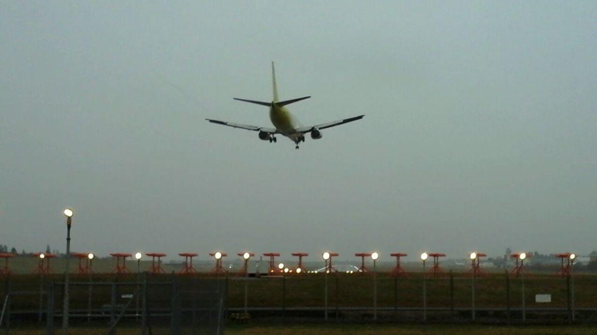 Airplane spotting at Birmingham airport